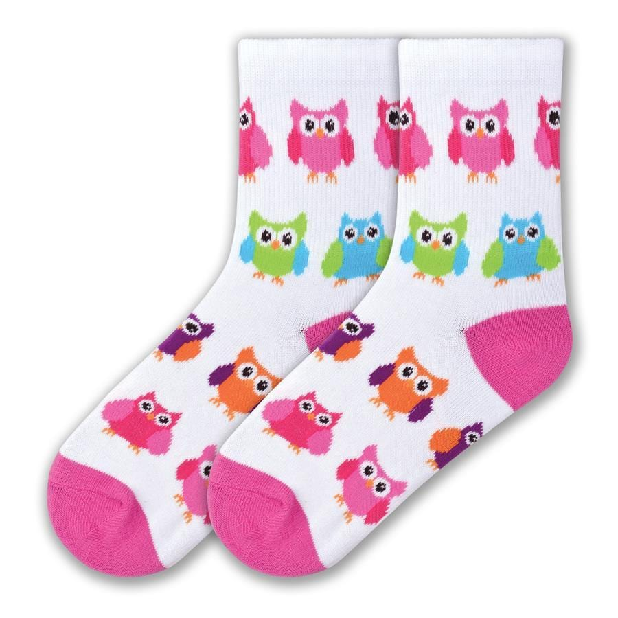 Colorful Owl Socks