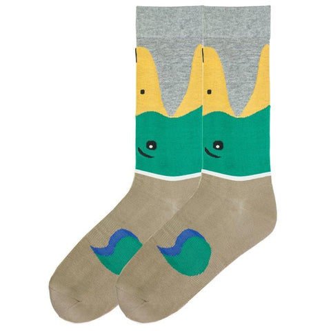 Mallard Duck Socks - Men's Crew