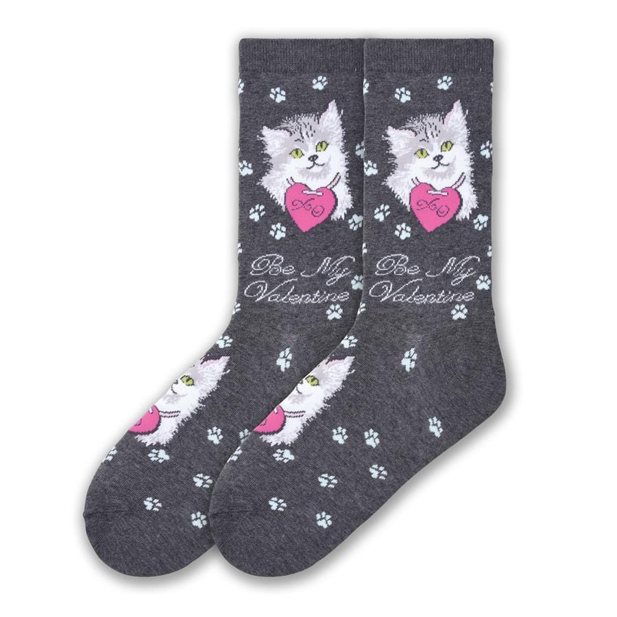 Valentine Cat - Crew for Women