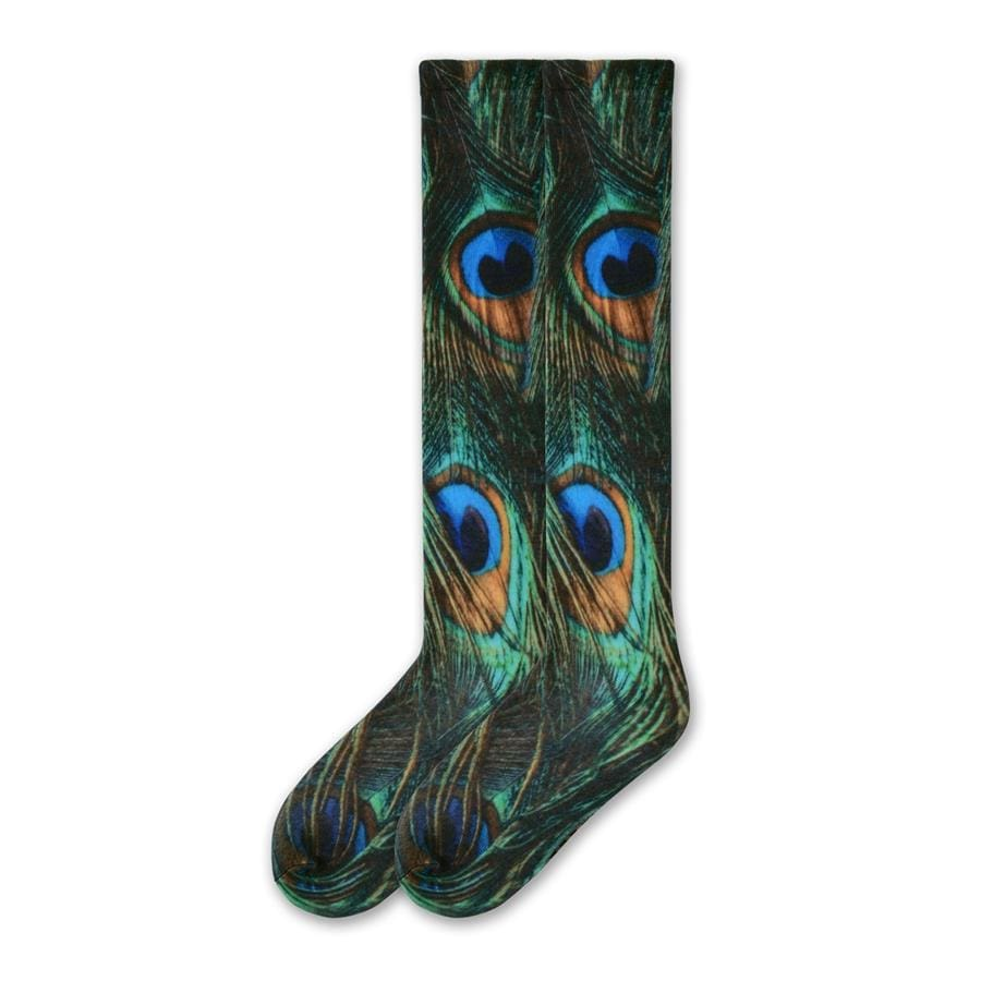 Peacock Socks Heather 360 - Women's Knee High