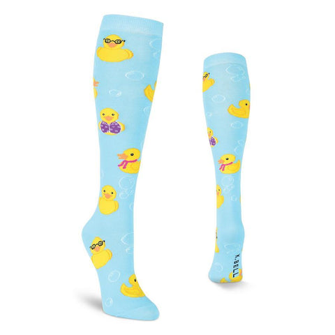 Rubber Duck Socks - Women's Knee High