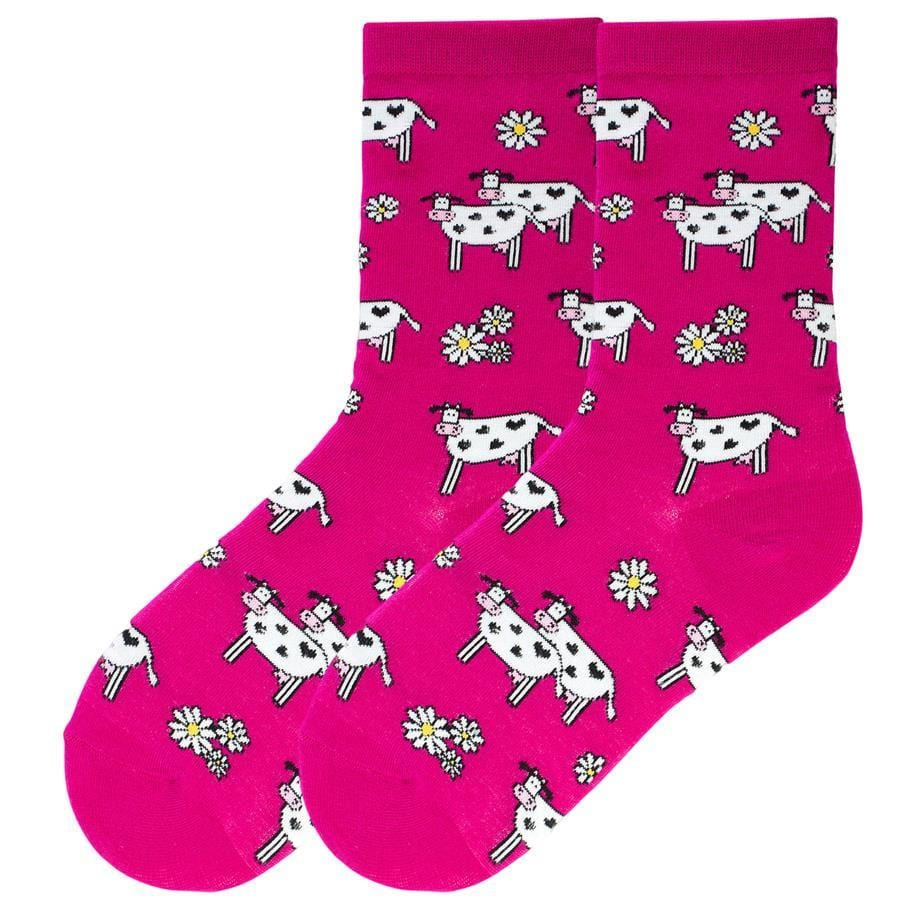 Cute Cow Socks