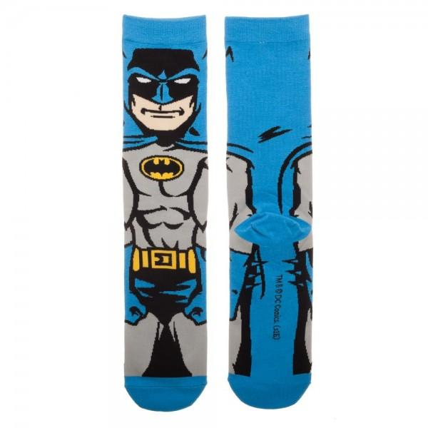 DC Comics Batman 360 Crew Socks for Men