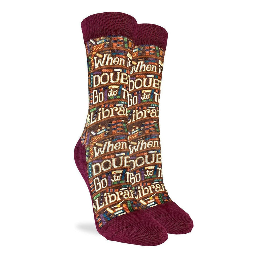 Go to The Library Socks Women's Crew Sock