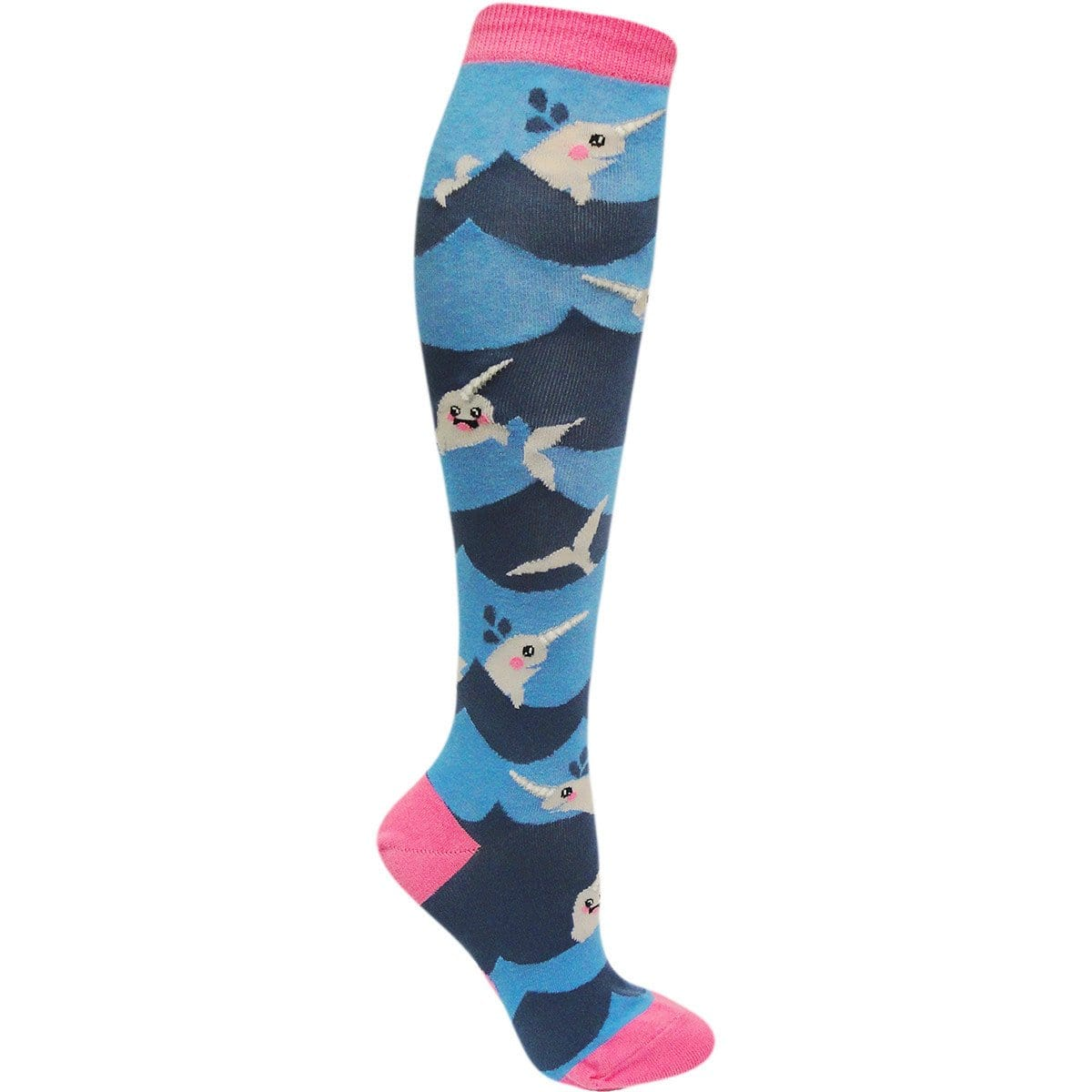 e3eb7b022e34c Lil' Narwhal Knee High Socks