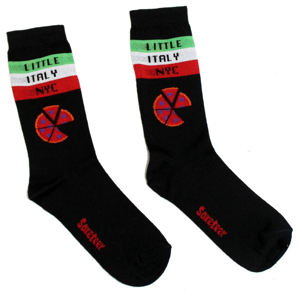 Little Italy NYC Crew Socks