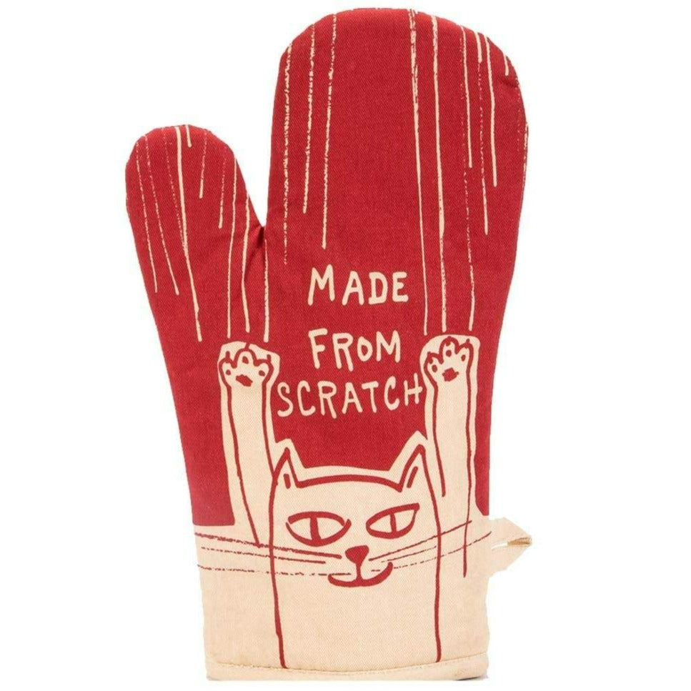 Made From Scratch Oven Mitt Red