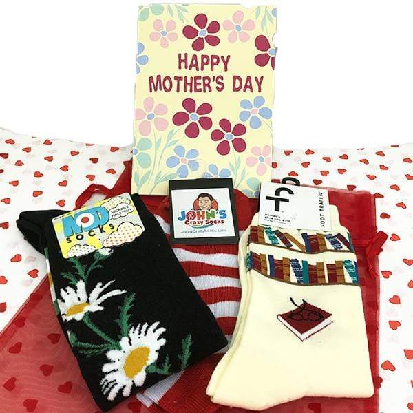 Mother's Day Gift Bag Of Socks