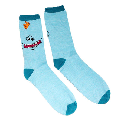 Rick & Morty Meeseeks Crew Socks for Men 2-Pack