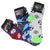 Children's Sports Socks 3 Pack Ages 4-7 Multi