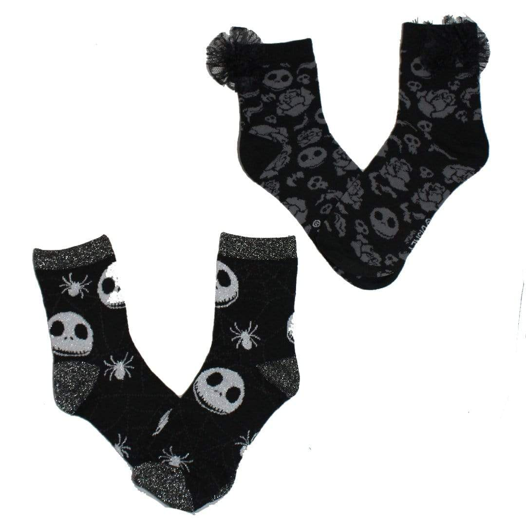 Nightmare Before Christmas Socks - 2 Pack