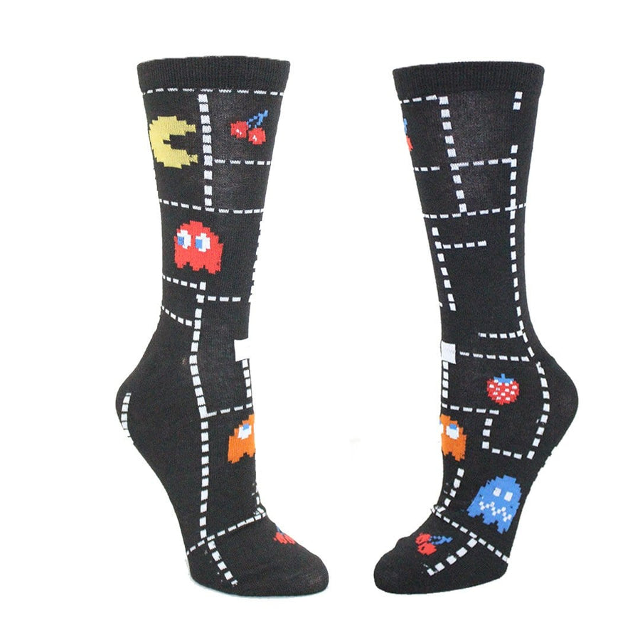 Pac-Man Unisex Crew Socks 2 Pack
