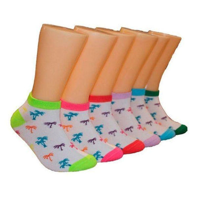 Palm Trees - Women's Ankle Sock