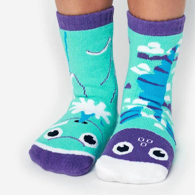 Dolphin & Fish Mismatched Crew Socks for Children