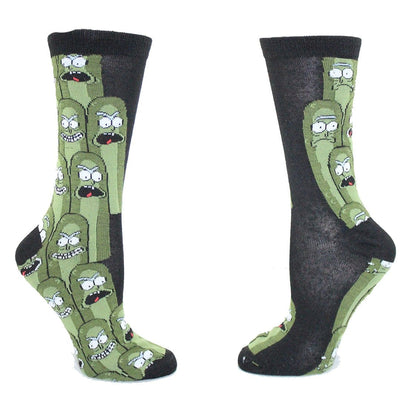 Pickle Rick Unisex Crew Socks 2 Pack