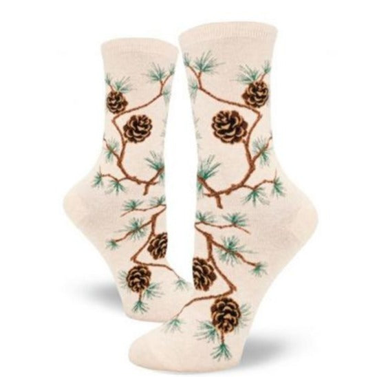 Pinecone Women's Crew Socks
