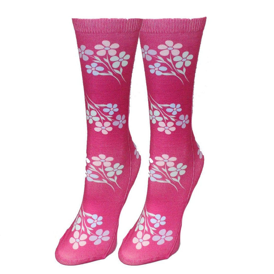 Pretty Petals Women's Crew Socks