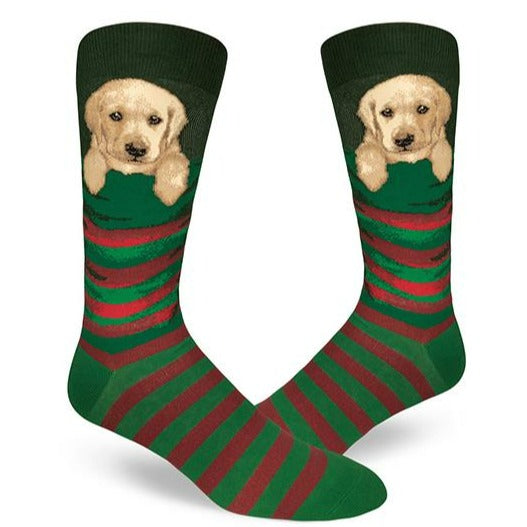 Stocking Pupper Men's Crew Socks