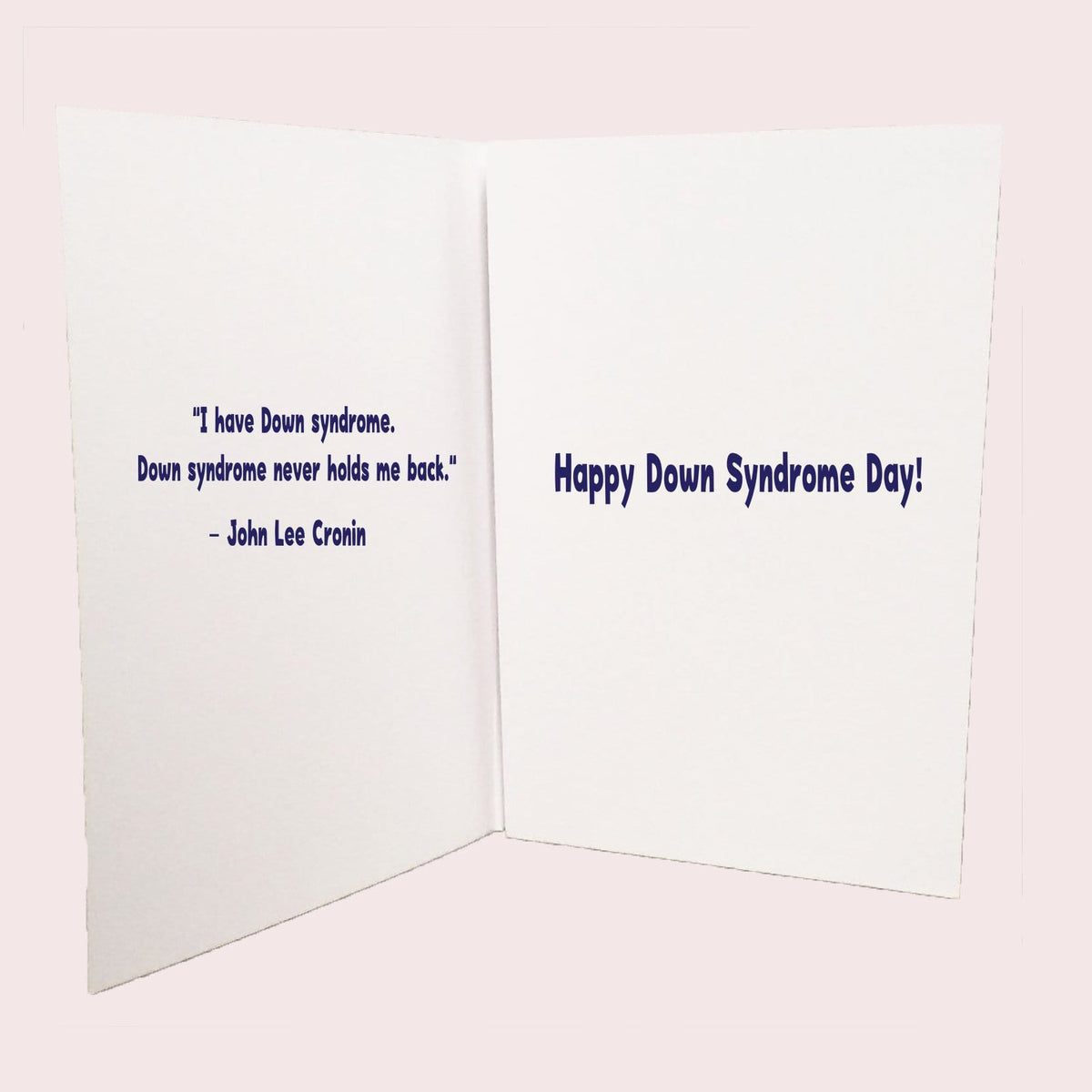 Rockin Down Syndrome Greeting Card