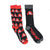 Rocky Horror Picture Show Socks 2 Pack Black
