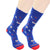 This Superhero Wears Scrubs Sock Crew Socks Navy / Men