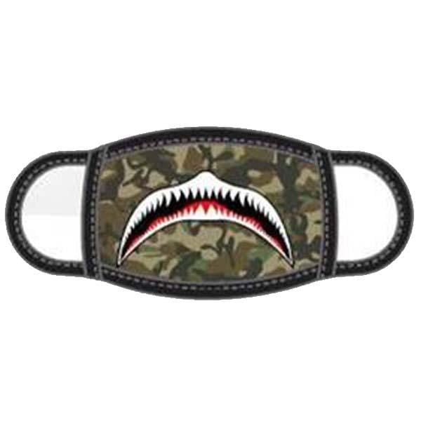 Shark Camo Children's Face Mask