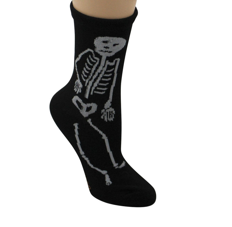 Dancing Skeleton Women's Crew Sock
