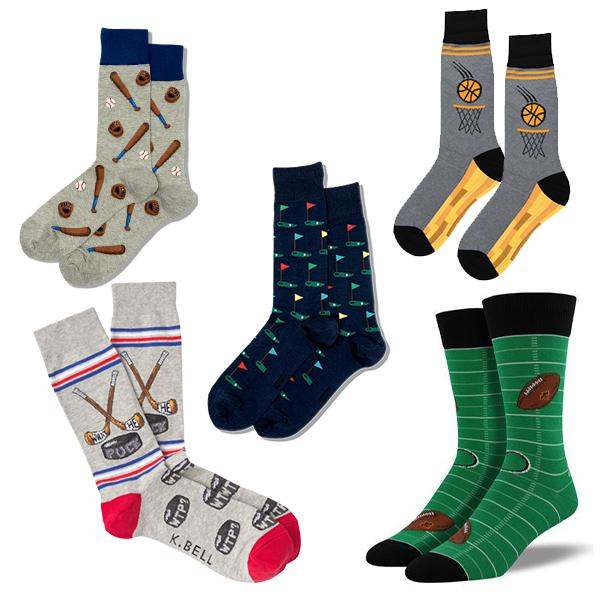 Sports Fanatic Box of Socks Multi
