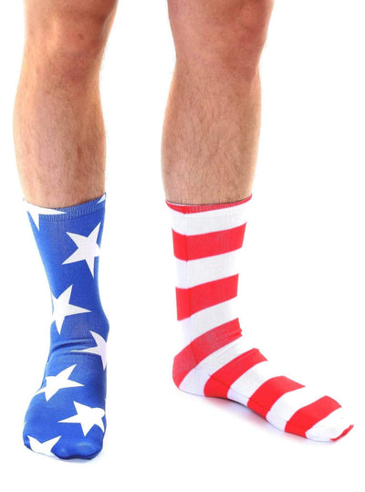 Stars and Stripes Socks - Mismatched - 2