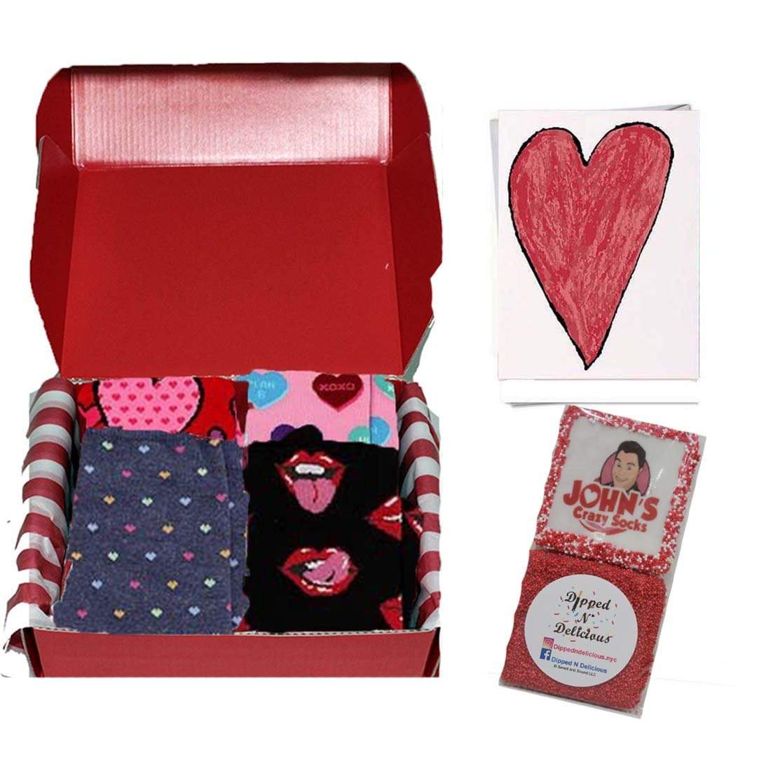 Valentine's Day Sweetness Box Red / Pink / Black
