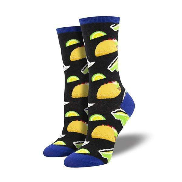Tacos and Margaritas Women's Crew Sock