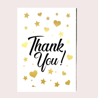 Thank You Greeting Card Single Card