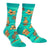 Tiki Toes Socks Women's Crew Sock