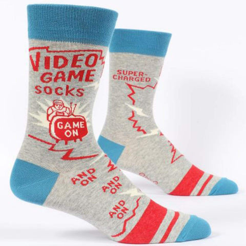 fcce883a2da55 Video Game Socks Men's Crew Sock
