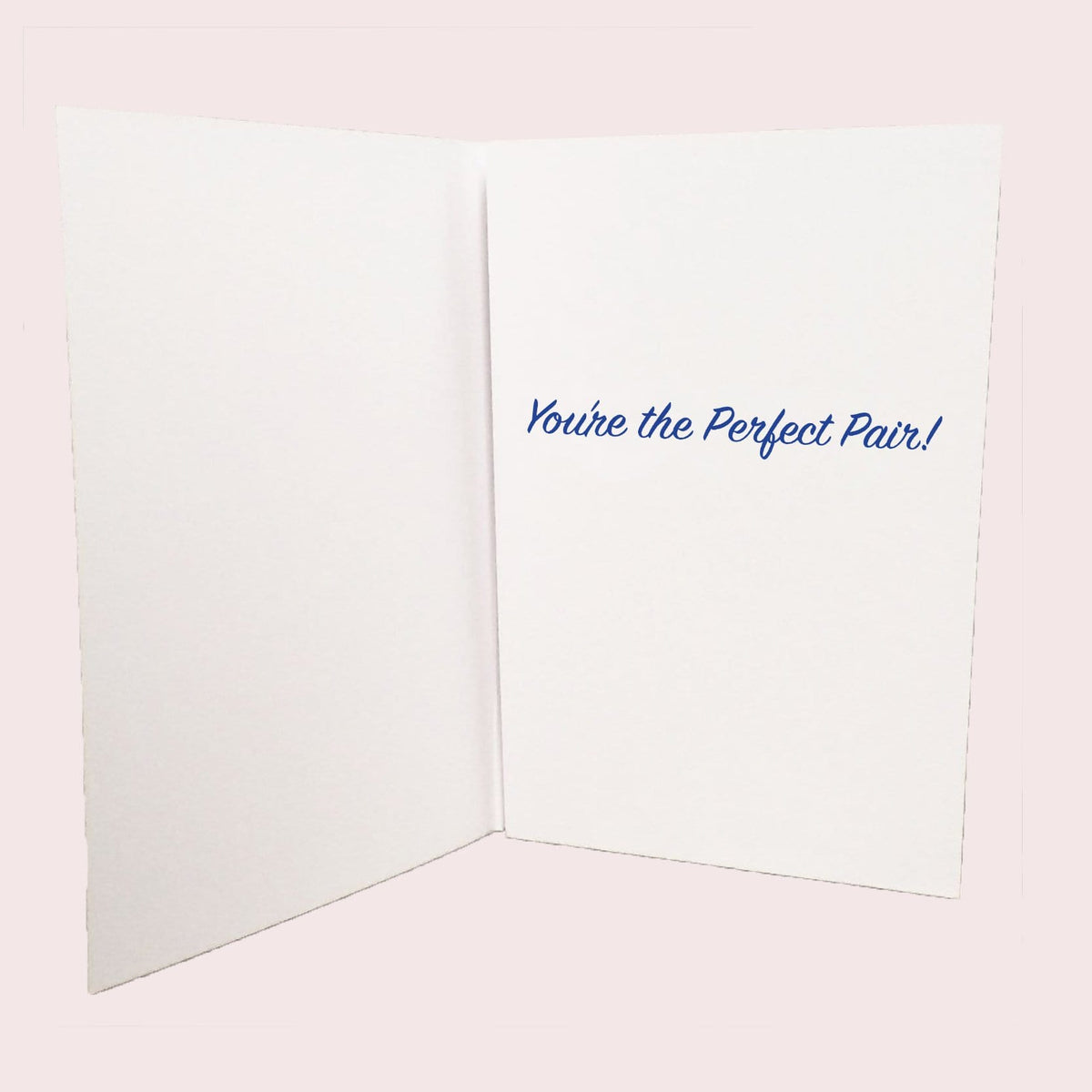 Groom and Groom Perfect Pair Greeting Card