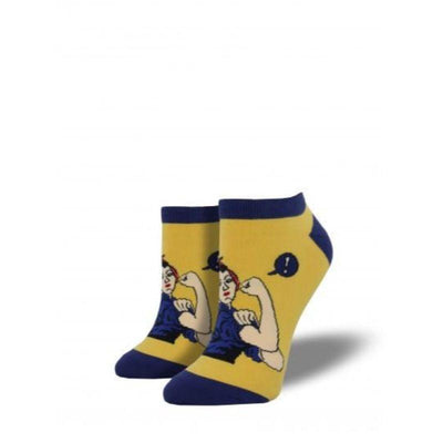 rosie-the-riveter-shortie-socks-no-show-socks-for-women