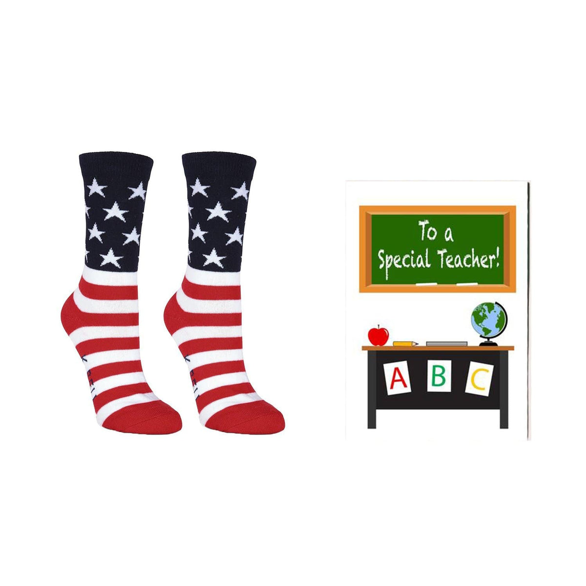 Women's Teacher John Gram American Flag