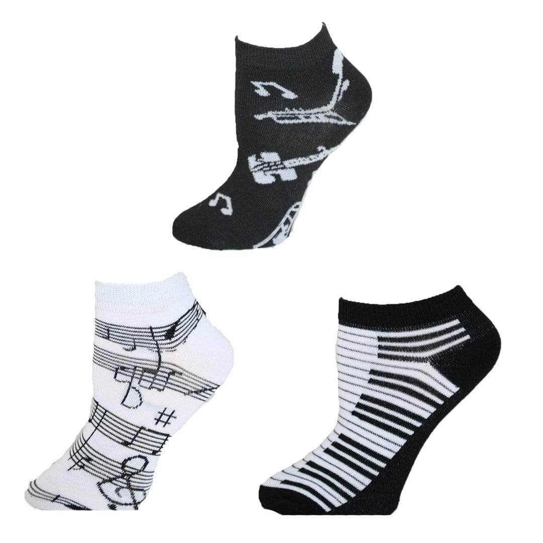Musical Themed Ankle Socks  Women's Ankle Sock
