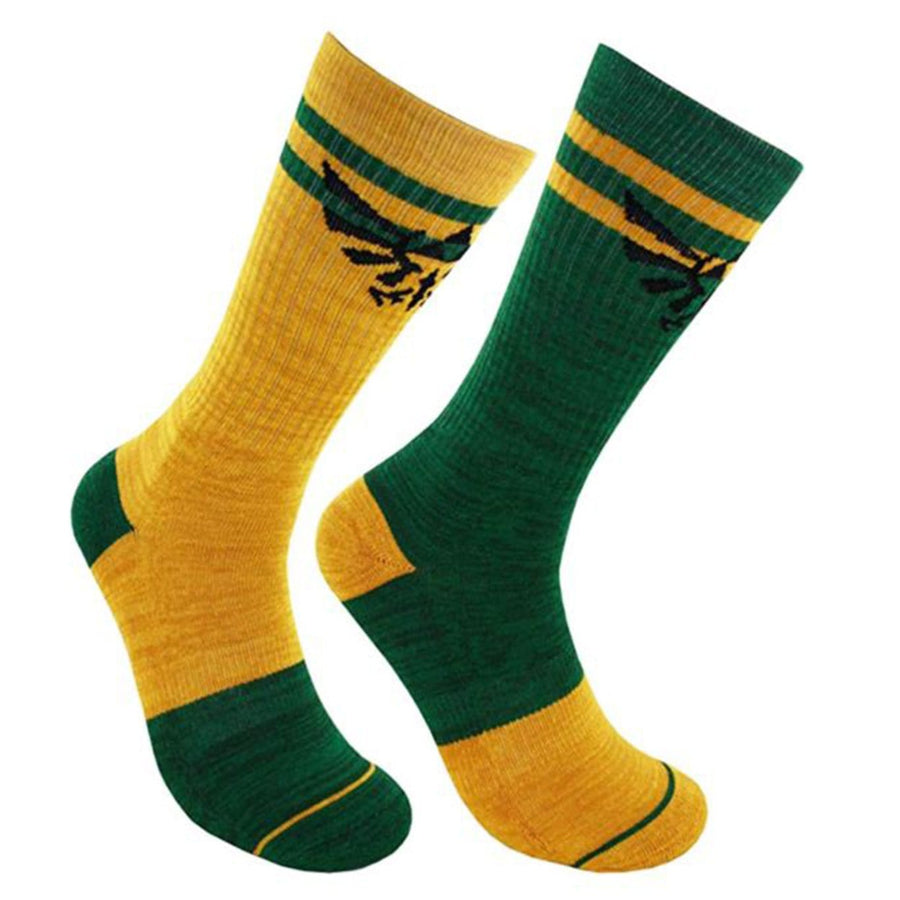 Legend Of Zelda Flipped Colors Socks Crew Sock