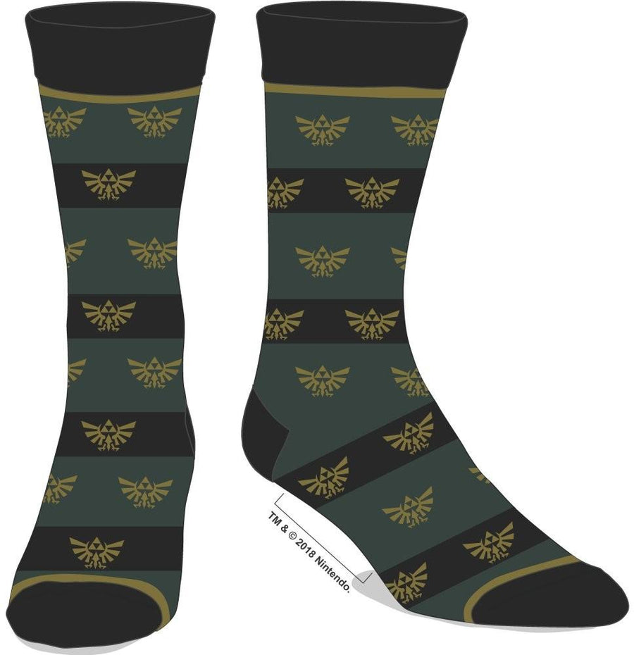 Zelda Men's Dress Crew Socks
