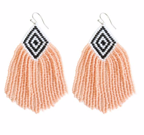 Sunset Beaded Earrings