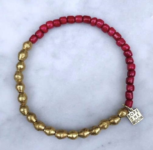 Sure Thing Bracelet - Burgundy