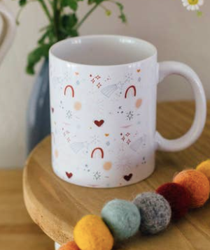 Sunshine and Rainbows Mug