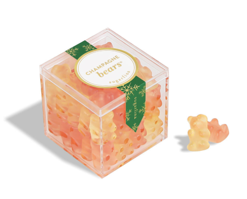 Champagne Bears Candy Cube