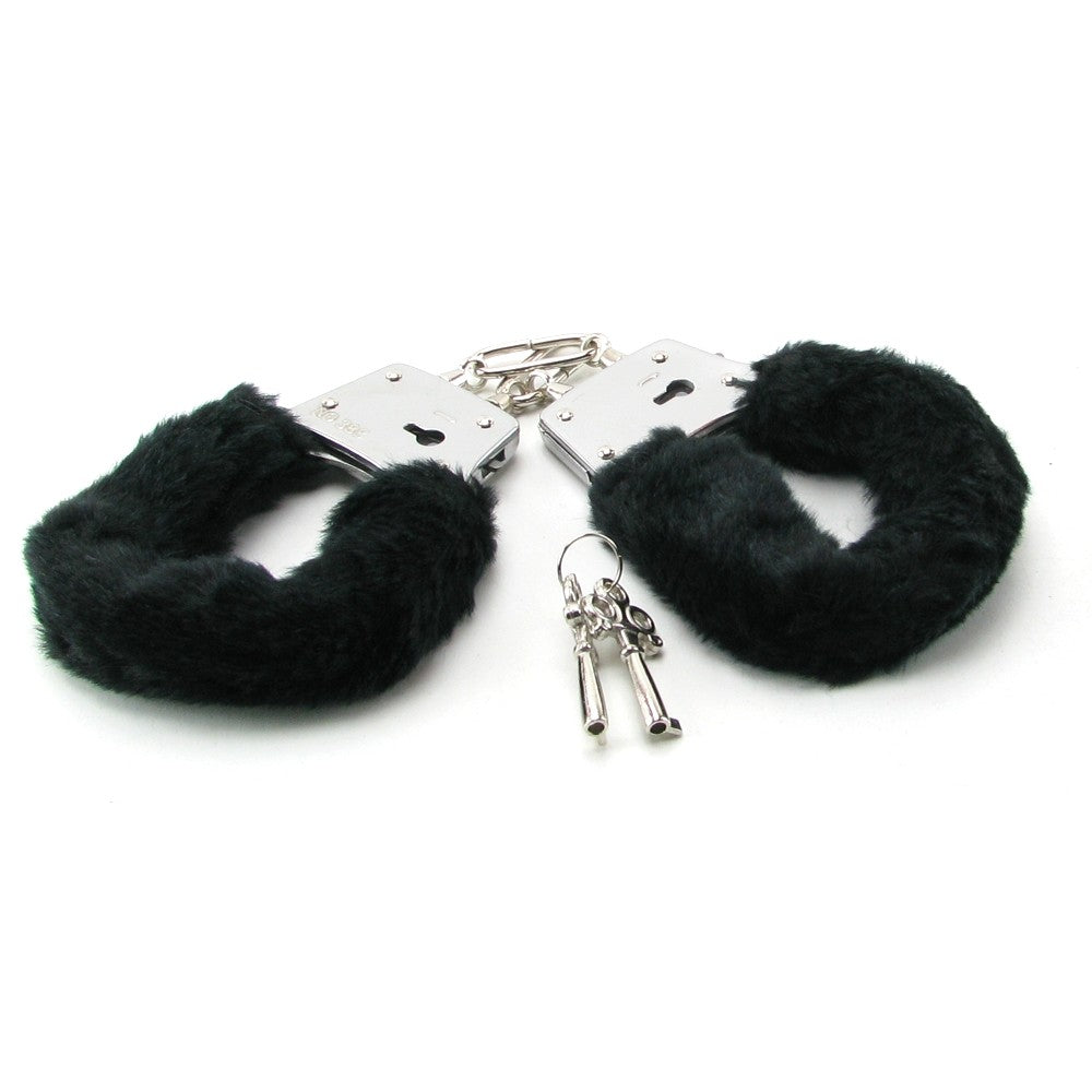 Fetish Fantasy Beginner's Furry Cuffs in Black