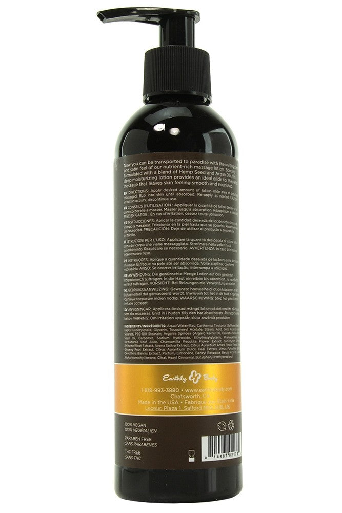 Dreamsicle Hemp Seed Massage Lotion in 8oz/237mL