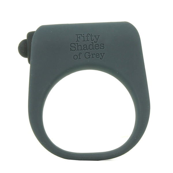 Secret Weapon Vibrating Love Ring in Grey