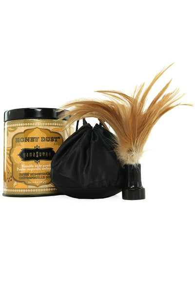 Honey Dust Body Powder 8oz/226g in Honeysuckle