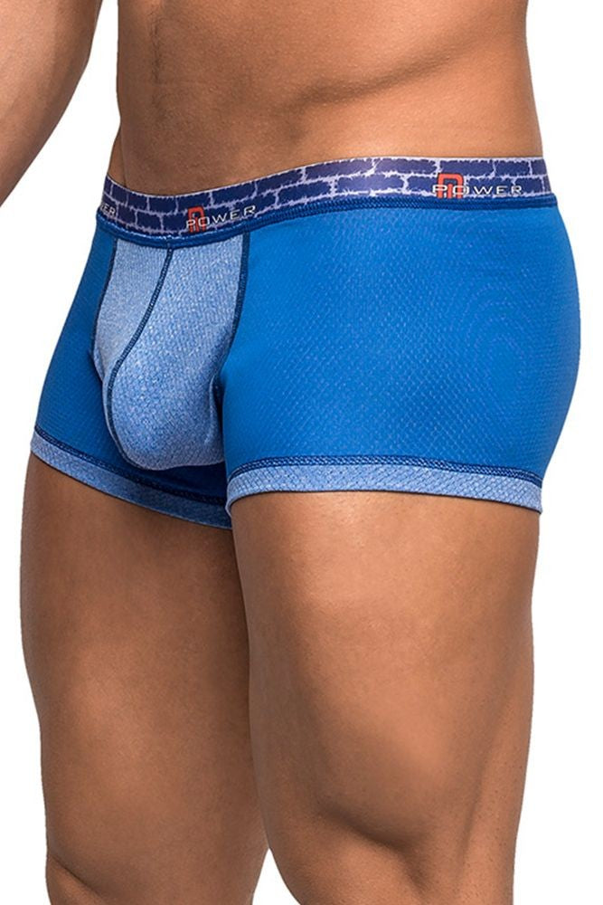 Blue Shades Reversible Mini Short in XL