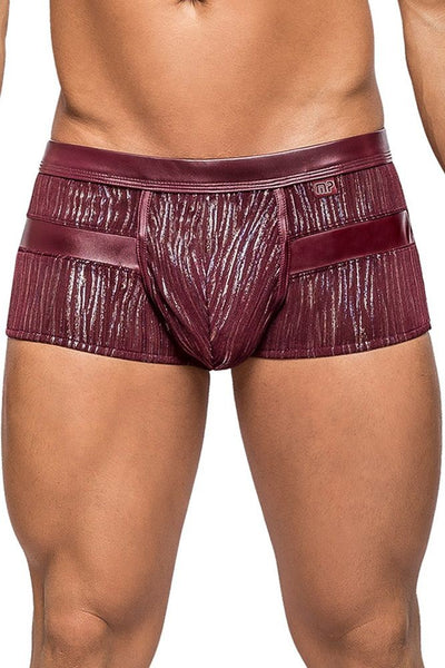 Maroon Dazzle Insert Short in XL